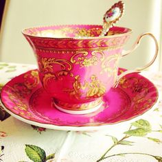 A beautiful cup of morning coffee is a great way to start the day feeling special.