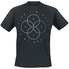 Circles - T-Shirt by Bring Me The Horizon Johnny Ringo, Gaming Merch, Bring Me The Horizon, Circles, Goodies, Bring It On, Mens Tops, T Shirt, Stuff To Buy