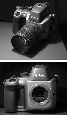 Nikon QV-1000C - La historia de la primera cámara electrónica de Nikon