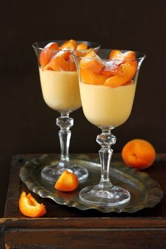 Apricot panna cotta by Eva Toneva