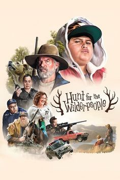 Hunt for the Wilderpeople Movie Poster- the funniest movie I have seen in a long time! The entire audience laughed out loud many times. Warm, silly , touching, fun and filmed in beautiful location.