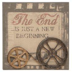 "25"" It's Just A New Beginning Wall Décor"