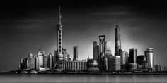 https://flic.kr/p/E3dZry   Shanghai-Skyline B+W   Shanghai Skyline - Shades of Grey