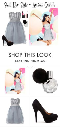 """Steal Her Style~ Ariana Grande"" by guest114 ❤ liked on Polyvore featuring Lipsy"