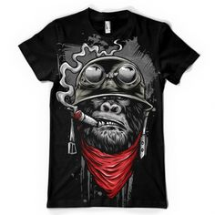 Ape of Duty Tee shirt design