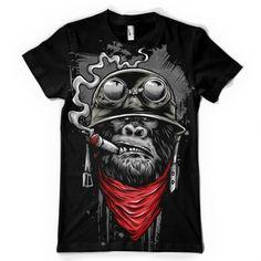 Ape of Duty Tee shirt design
