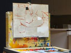 """Colorful Connections: The """"Keys"""" to a Still Life Painting: Daniel Keys Demo"""