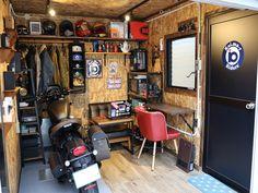 イーグルガレージ その他の設置例 – バイクガレージ製作販売【アトミック】福岡・北九州(九州) Motorcycle Shed Ideas, Garage Room, Garage Ideas, Man Cave, Motorcycles, Shopping, Motorcycle Garage, Game Room Design, Events