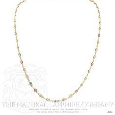 15.05ct Multi Color Sapphire Necklace Image