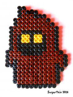 Jawa magnet Star Wars Hama beads by Sugarteix Equipo Creativo - http://www.mistertrufa.net/sugarshop/