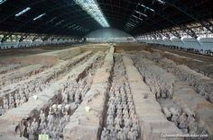 Top 10 places to visit in Xian - Qin Terracotta Army-pit-1
