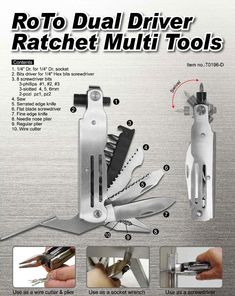 Dual Drive Ratchet Multi Tools, View Multi function tool, Product Details from HANDY TWINS INTERNATIONAL CO., LTD. on Alibaba.com