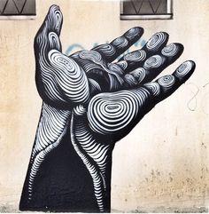 Jason Botkin detail - Vitry, France | Street Art | Street Artists | Art | Urban Art | Modern Art | Urban Artists | Mural | Graffiti | travel | Schomp MINI