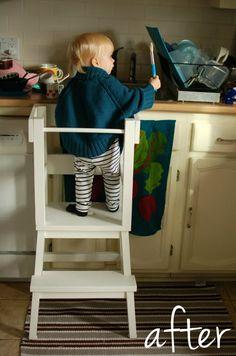 Una torre de aprendizaje para niños | Decorar Muebles