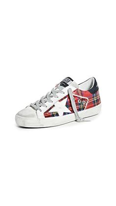 Superstar Sneakers, Easy Funny Halloween Costumes, Star Wars, Plaid Design, Weekend Wear, Golden Goose, Classic Leather, Active Wear For Women, Signature Style