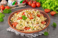 Вторые блюда. Пошаговые рецепты с фото простых и вкусных вторых блюд Fried Rice, Pasta Salad, Fries, Ethnic Recipes, Food, Crab Pasta Salad, Essen, Meals, Nasi Goreng