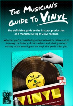 The definitive guide to the history, production, and manufacturing of vinyl records.