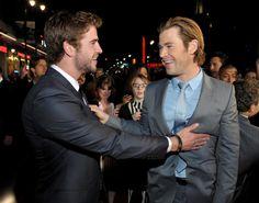 Chris y Liam Hemsworth en una imagen de archivo (Gtres)