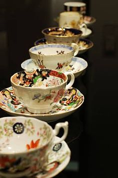 Bone China Tea Cups, Vintage Cups, Favorite Things, Tableware, Dinnerware, Tablewares, Dishes, Place Settings