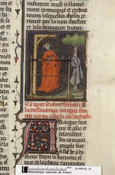 Standing while weaving. and Penelope (fol. beginning of the century, Inkle Weaving, Card Weaving, Illuminated Letters, Illuminated Manuscript, History Of Textile, Tablet Weaving Patterns, Medieval Crafts, Medieval Manuscript, Bnf