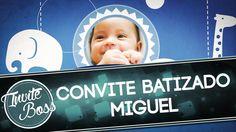 Convite Animado Batizado (Sombra) - Miguel Martins