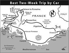 Provence & French Riviera Itinerary: Where to Go in Provence & the French Riviera by Rick Steves