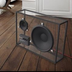 Glass subwoofer