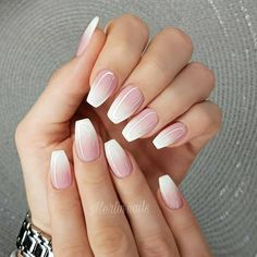 Pretty mix and match pink nail art designs 1 Top Ideas To Try pink nail ideas - Nail Ideas Cute Pink Nails, Pink Nail Art, Cute Acrylic Nails, Pink Ombre Nails, Glitter Nails, Perfect Nails, Gorgeous Nails, Short Nail Designs, Nail Art Designs