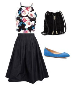 A fashion look from January 2016 featuring going out tops, midi skirt and ballet shoes. Browse and shop related looks. Fashion Women, Women's Fashion, Going Out Tops, Vince Camuto, Talbots, Polyvore Fashion, Ballet Shoes, Midi Skirt, Women's Clothing