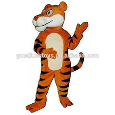 Tiger mascots - Mascot of our Tiger mascots by SpotSound UK Cartoon Mascot Costumes, Anime Cosplay Costumes, Promotional Events, Adult Cartoons, Event Marketing, Adult Costumes, Costume Accessories, Cool Cats, Cartoon Characters