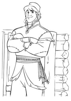 frozen let it go coloring page