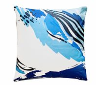 dali blues cushion by kitty mccall