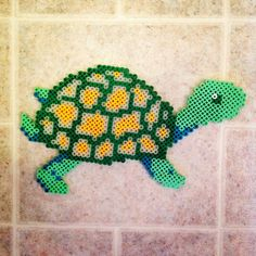 Turtle perler beads by caseymtaft