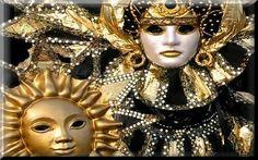 Maschere veneziane. Via Spiritoribelle.com