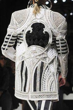 Woven Boxy Jacket Trend for Spring Summer 2013.  BalmainSpring Summer 2013.