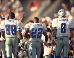 3 Superbowls, 3 Hall of Famers, 3 of the Greatest players in NFL history