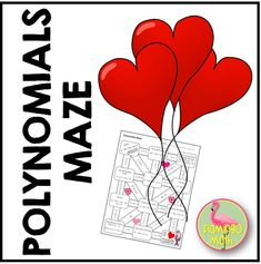This maze activity is designed to help your Algebra 2 Honors or Pre-Calculus students with practice solving Polynomial Functions with complex roots. Lots of fun for a change in the daily routine. Valentine Activities, Math Activities, Precalculus, Algebra 2, Secondary Math, Math Classroom, Maze, Special Day, Flamingo