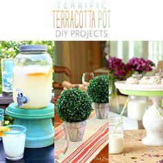 Terrific Terracotta Pot DIY Projects - The Cottage Market