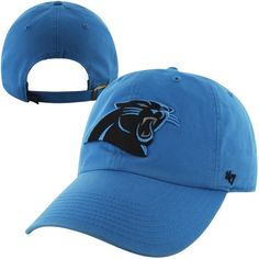 d2a09ee704c Buy Mens Carolina Panthers Brand Panther Blue Cleanup Adjustable Hat at  JCPenny s Sport Fan Shop.