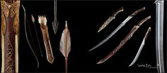 Arwen's Weapons Cool Swords, Battle Axe, Fantasy Weapons, Fantasy Armor, Superhero Design, Weapon Concept Art, Jrr Tolkien, Legolas, Medieval Fantasy