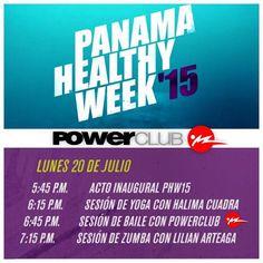 Mañana comienza el @pmahealthyweek 2015 en #Multiplaza con los mejores instructores de @powerclubpanama !!! Completamente GRATIS!!! @fannycardoze