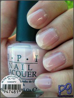 opi nail polish Polish Galore: OPI In the Spot-Light Pink opi nail polish Opi Nail Polish Colors, Pink Nail Colors, Pretty Nail Colors, Opi Nails, Opi Pink, Pink Polish, Essie Polish, Spot Light, Neutral Nails