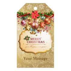 Merry Christmas 83 Options Gift Tags