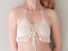 PATRÓN Crochet Bikini Top / victoriana Beach Style de Accessodium