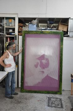 Back to Basics / Huge Silkscreen Print by tind , via Behance