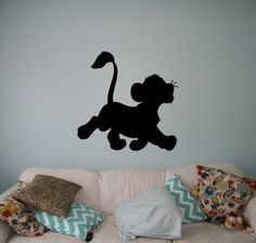 Hey, I found this really awesome Etsy listing at https://www.etsy.com/uk/listing/253163506/simba-lion-king-wall-vinyl-decal-disney