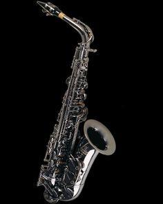 black nickel alto saxophone from Gerald Albright Signature Series
