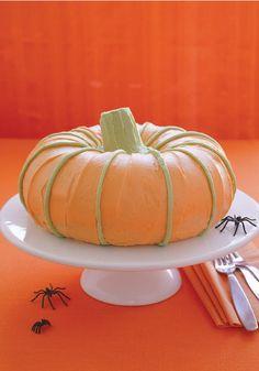 Great Pumpkin Cake -- step-by-step video & recipe