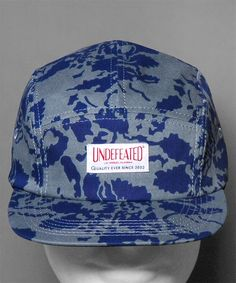 Jetzt bei Numelo: die Undefeated Floral Camp Cap in Blue - http://www.numelo.com/undefeated-floral-camp-p-24492999.html #undefeated #floralcampcap #baseballcaps #numelo