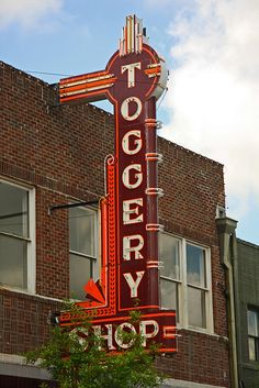The Toggery Shop, Hammond, LA....where I worked in high school ;-) <3 <3 <3  I wish it was still The Toggery Shop!